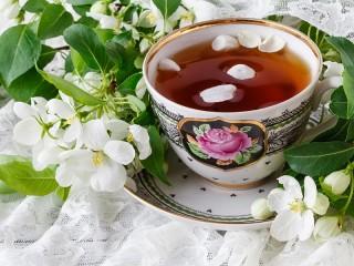 Собирать пазл Чайная пара онлайн