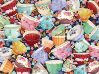 Собирать пазл Чайные чашки онлайн