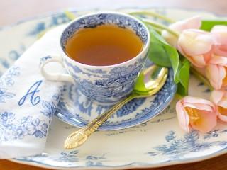 Собирать пазл Чашечка чая онлайн