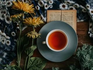 Собирать пазл Чашка чая онлайн