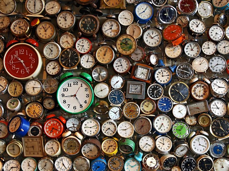 Пазл Собирать пазлы онлайн - Часы