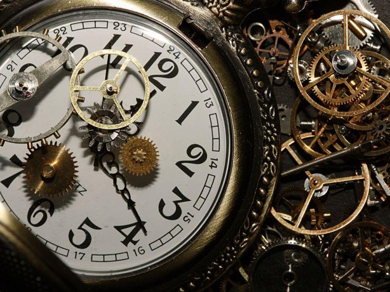 Пазл Собирать пазлы онлайн - Часы в деталях