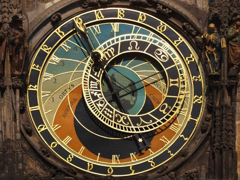 Пазл Собирать пазлы онлайн - Часы в Праге