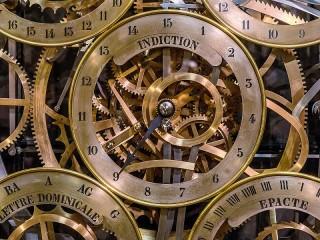 Собирать пазл Часовой механизм онлайн