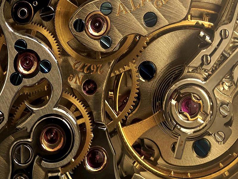 Пазл Собирать пазлы онлайн - Часовой механизм