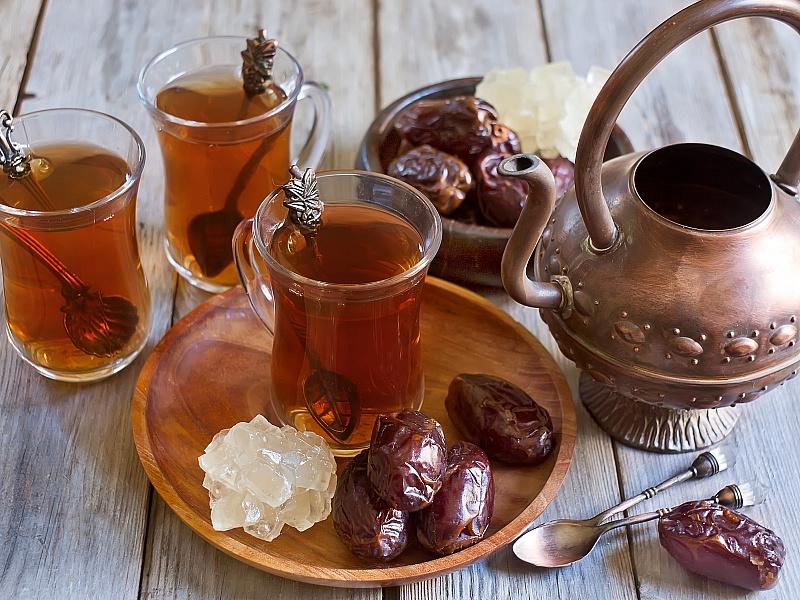 Пазл Собирать пазлы онлайн - Чай и сладости
