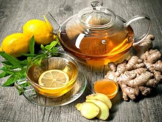 Собирать пазл Чай с имбирем онлайн