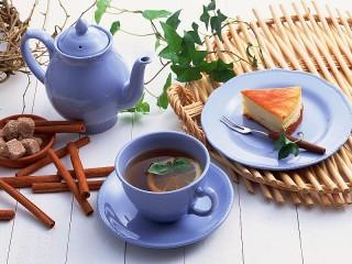Собирать пазл Чай с лимоном онлайн