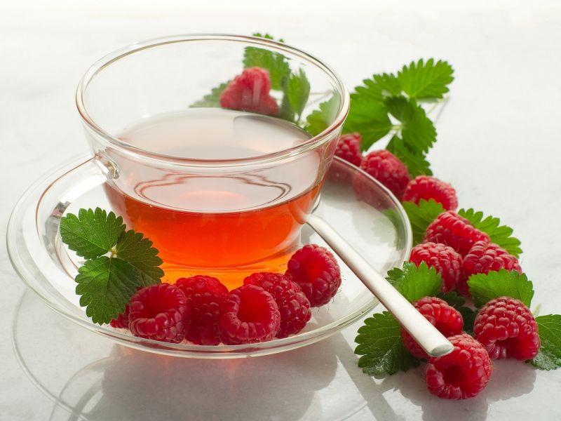 Пазл Собирать пазлы онлайн - Чай с малиной