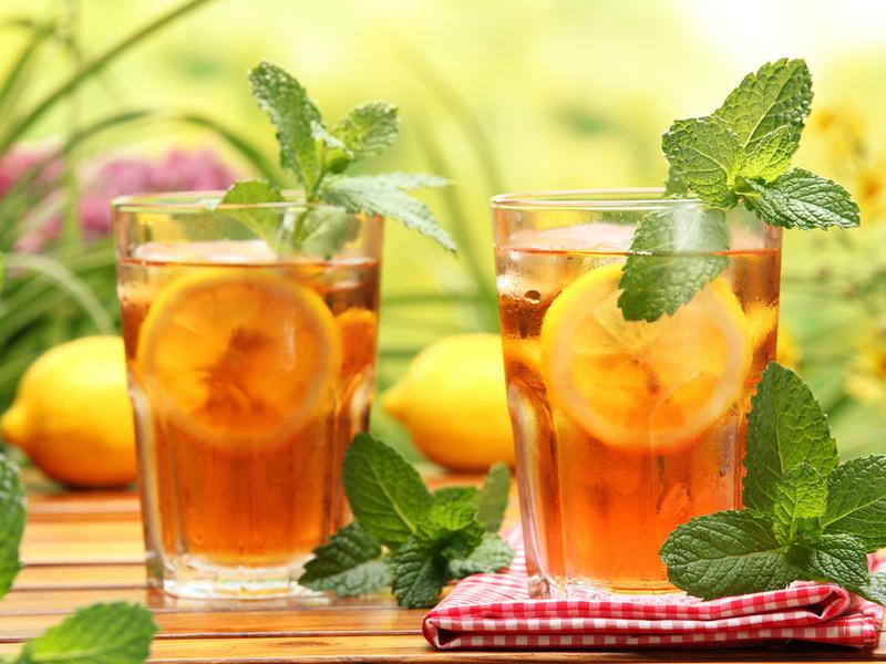 Пазл Собирать пазлы онлайн - Чай с мятой