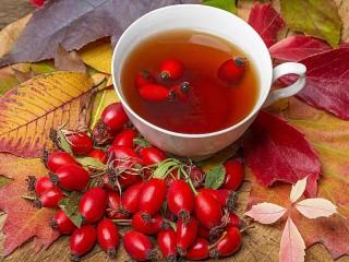 Собирать пазл Чай с шиповником онлайн