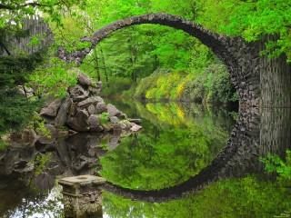 Собирать пазл Чертов мост Германия онлайн