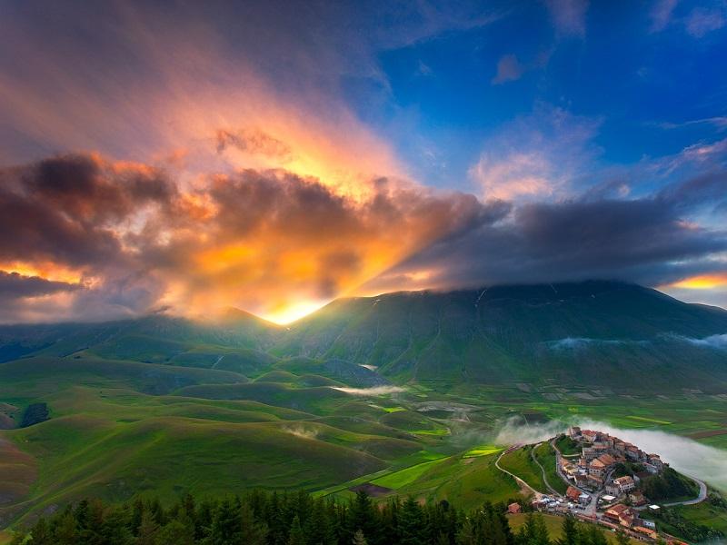 Пазл Собирать пазлы онлайн - Чешская Швейцария