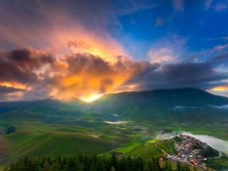 Собирать пазл Чешская Швейцария онлайн