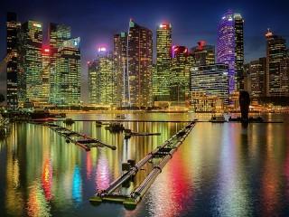 Собирать пазл Чикагские небоскрёбы онлайн