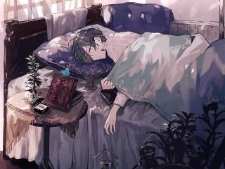 Собирать пазл Чтение перед сном онлайн