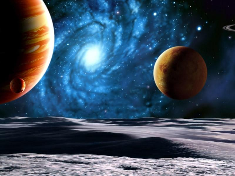 Пазл Собирать пазлы онлайн - Чужая галактика