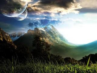 Собирать пазл Чужая планета онлайн