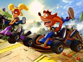Собирать пазл Crash Team Racing онлайн