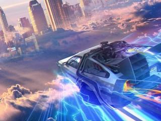 Собирать пазл DeLorean онлайн