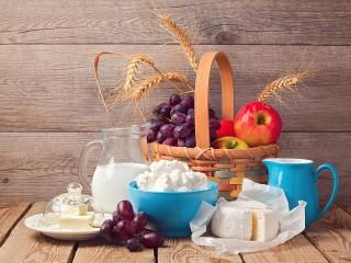 Собирать пазл Деревенский завтрак онлайн