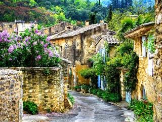 Собирать пазл Деревня в Пеованце онлайн