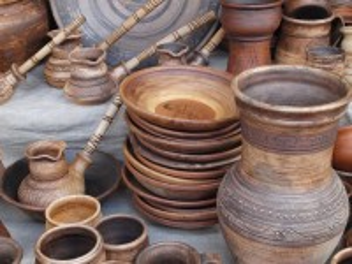 Собирать пазл Керамическая посуда онлайн