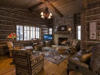 Собирать пазл Деревянный домик онлайн