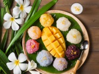 Собирать пазл Десерт и плюмерия онлайн