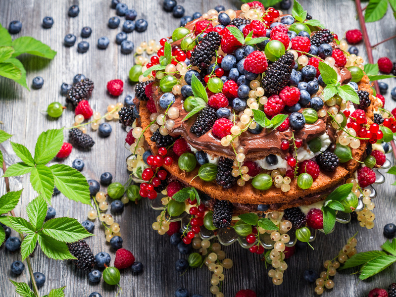 Пазл Собирать пазлы онлайн - Десерт из ягод