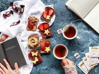 Собирать пазл Десертные бутерброды онлайн
