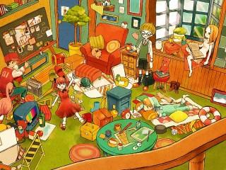 Собирать пазл Детский сад онлайн