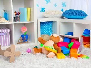 Собирать пазл Детский уголок онлайн