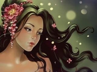 Собирать пазл Девушка-мечта онлайн