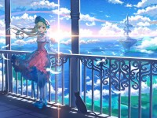 Собирать пазл Девушка на балконе онлайн
