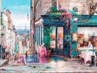 Собирать пазл Парижские мечты онлайн