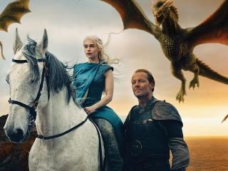 Собирать пазл Дейенерис и драконы онлайн