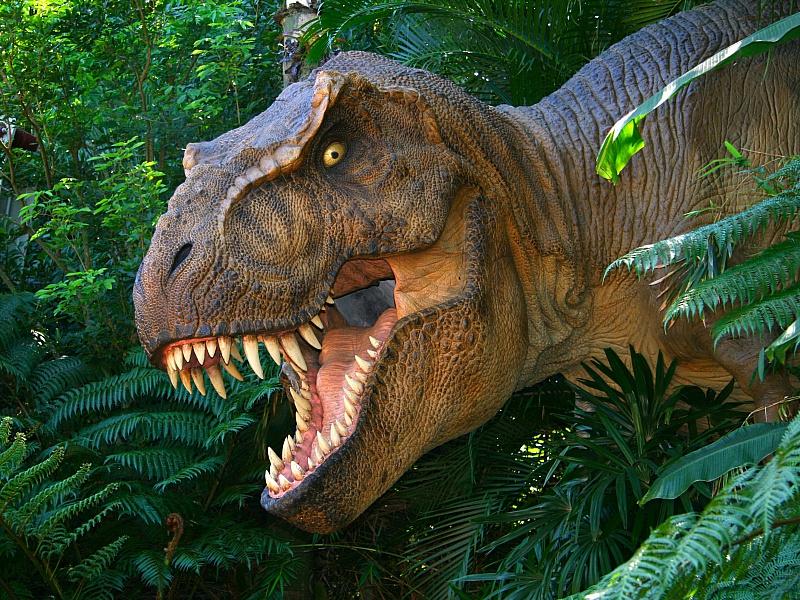 Пазл Собирать пазлы онлайн - Динозавр