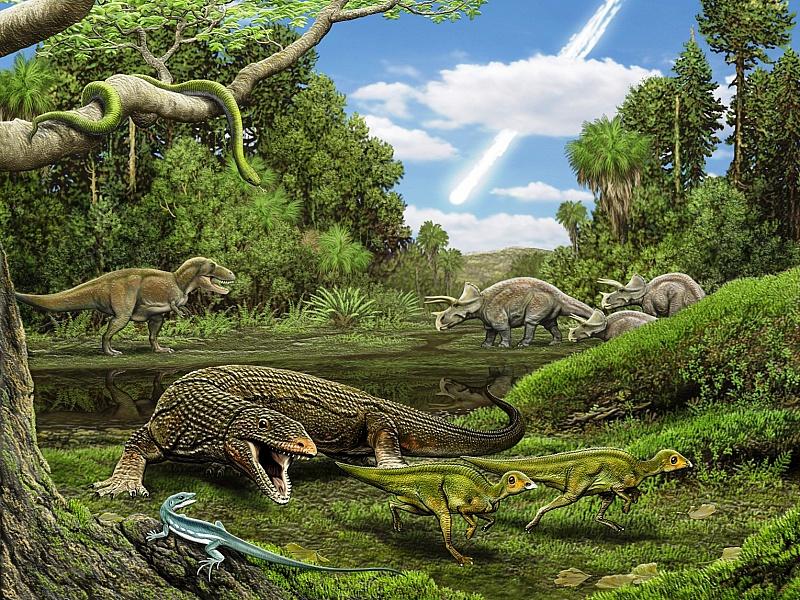 Пазл Собирать пазлы онлайн - Динозавры