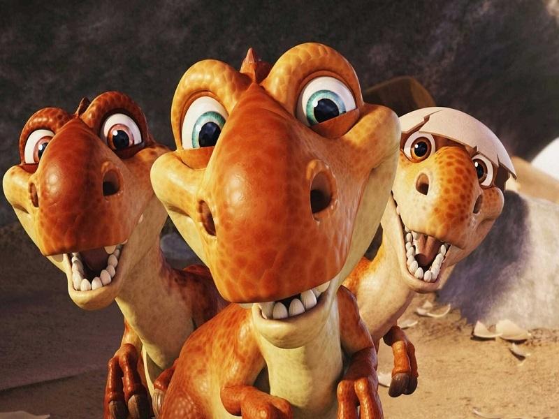 Пазл Собирать пазлы онлайн - Динозаврики