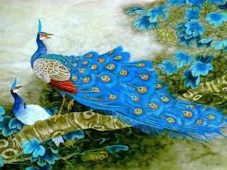 Собирать пазл Дивные птицы онлайн