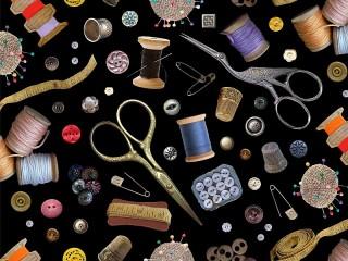 Собирать пазл Для шитья онлайн