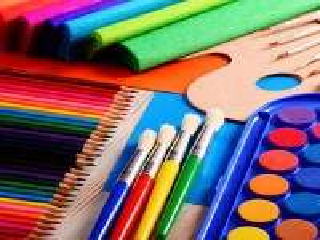 Собирать пазл Для урока рисования онлайн