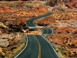 Собирать пазл Долгая дорога в горы онлайн