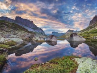 Собирать пазл Долина горных духов онлайн