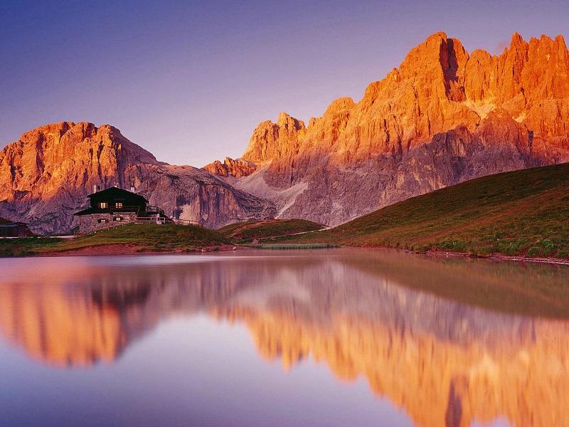 Пазл Собирать пазлы онлайн - Доломитовы Альпы
