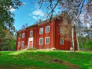 Собирать пазл Дом-музей в Скансене онлайн