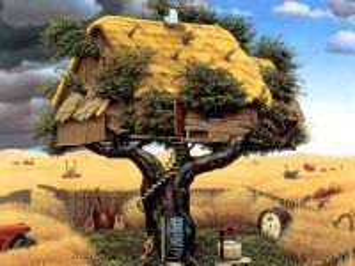 Собирать пазл Домик на дереве онлайн