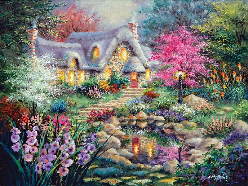 рисунок волшебный сад произойдёт