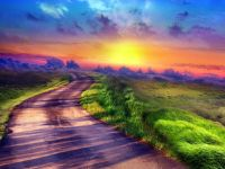 Собирать пазл Дорога к облакам онлайн